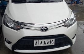 2015 Toyota Vios 1.5 G White For Sale