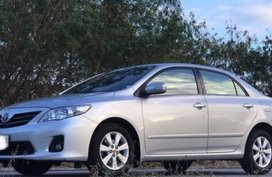 2012 Toyota Corolla Altis Silver For Sale