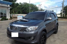2014 Toyota Fortuner Gray For Sale