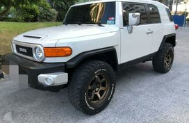 Toyota Fj Cruiser 2016 White For Sale