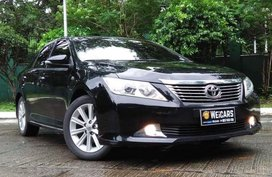 2013 TOYOTA CAMRY Black for Sale