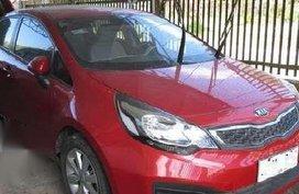 2016 matic Kia RIO GRAB Red For Sale