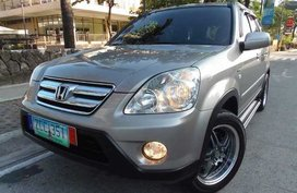 2006 HONDA CRV A/T Limited for sale