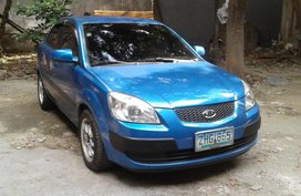 Kia Rio 2007 AT Blue For Sale