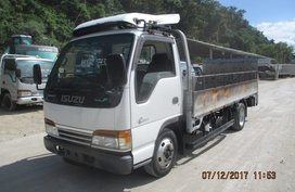 Dropside Cargo Truck with Power Tailgate