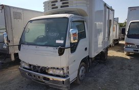 Isuzu Elf Refrigerated Van 14ft with Power Tailgate For Sale