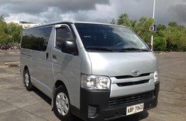 Toyota Hi-Ace Commuter Van 2015 model MT Lucena City
