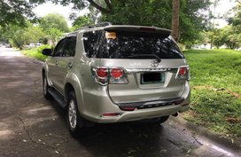 2014 Toyota Fortuner G Diesel Automatic for sale