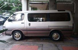Toyota hi ace custom van