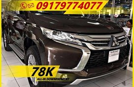 Available now LOW DOWN Mitsubishi Montero Sport Gls Automatic 2018