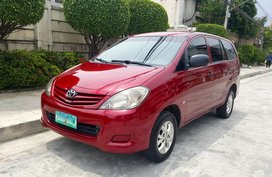 2009 Toyota Innova E D4d Manual - 09 for sale
