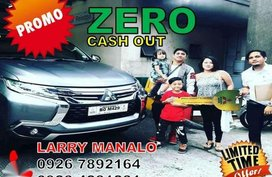 Zero Cash out ! Montero Sports Vs Mirage g4 vs Strada vs L-300fb