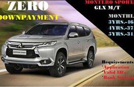 Montero Sport GLX ZERO Down Promo