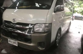2015 Toyota Hiace GL Grandia 2.5L Manual White