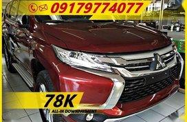 Big sale now at 78K DOWN Mitsubishi Montero Sport Gls Automatic 2018