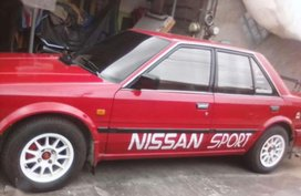 Nissan maxima 1990 Red Sedan For Sale