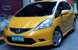 2010 honda jazz 1.5 yellow for sale