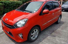 2015 Toyota Wigo Red Hatchback For Sale