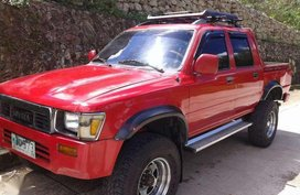 FOR SALE Toyota Hilux 4x4 manual transmission 1994