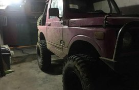 Suzuki Samurai pink 4X4 FOR SALE