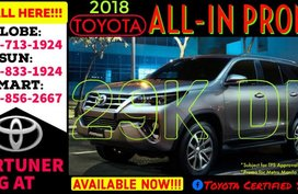 2019 Toyota Fortuner 99k DP Net All IN Available now Call 09988562667 Brand New Casa Sale Promo AT
