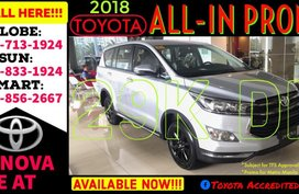 Available now Call 09988562667 Brand New 2019 Toyota Innova E AT 29k Net Lowest DP Promo AT