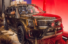 Kia Telluride 2019 breathes in the Texas feel at New York Fashion Week