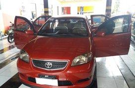 Toyota Vios 1.3E MT Red For Sale