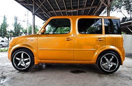 2003 Nissan Cube Yellow For Sale