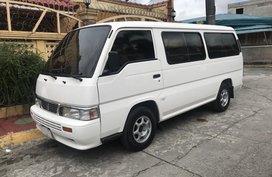 2014 Nissan Urvan Shuttle MT White For Sale