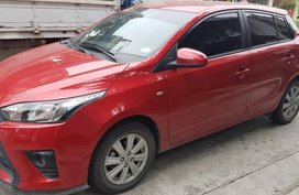 2016 Toyota Yaris E Red AT Red For Sale