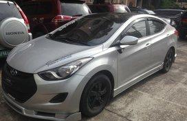Hyundai Elantra 2013 Manual Silver For Sale