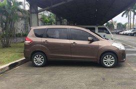 Suzuki Ertiga Glx AT 2015 Brown For Sale