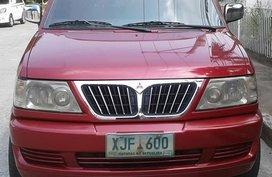 2003 Mitsubishi Adventure GLX Red For Sale