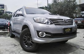 2015 Toyota Fortuner 4x2 V Automatic For Sale