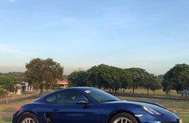 2014 Porsche Cayman Blue For Sale