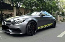 Mercedez Benz C63 2017 AT Gray For Sale