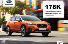 Brand new SUBARU Cars 2018 FOR SALE