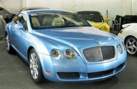 2007 Bentley Continental GT Blue For Sale