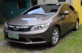 Honda Civic 2013 Brown For Sale