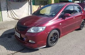 Honda City 2006 Red For Sale