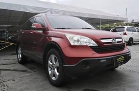2009 Honda Crv 4x2 A/T Gas Red For Sale
