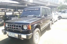 1990 Mitsubishi Montero Black For Sale