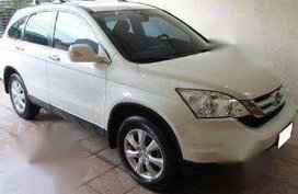 Honda CRV Modulo 2011 White For Sale