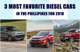 Here Are Our 3 Most Favorite Diesel Cars in the Philippines for 2018