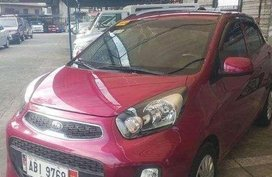 2015 Kia Picanto 12L Gasoline Pink AT SM City Bicutan