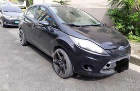 2012 FORD FIESTA SEDAN Automatic Transmission