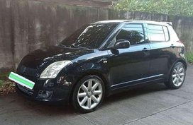 2008 Suzuki Swift Black For Sale