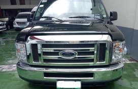 2012 FORD E-150 AT Black For Sale