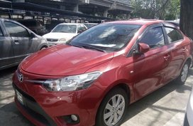 2016 Toyota Vios E Red For Sale